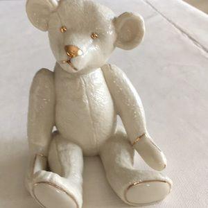 Lenox Smithsonian teddy bear Centennial, sculpture